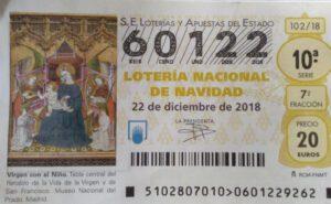 decimo loteria navidad